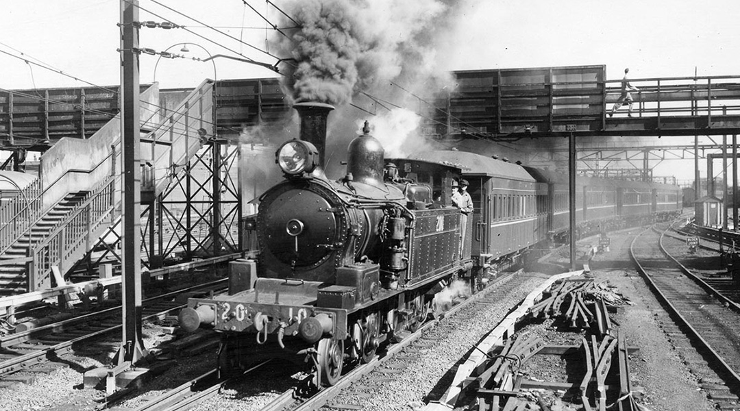 steam train redfern