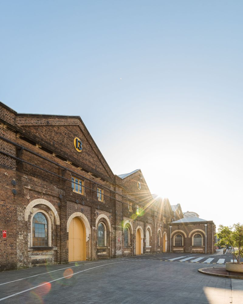 Eveleigh Carriageworks multi-arts centre in Sydney